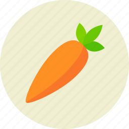 carrot, food, vegetable icon