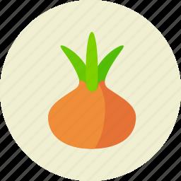 food, kitchen, onion icon