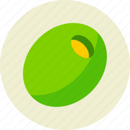 filling, food, olive, vegetable icon