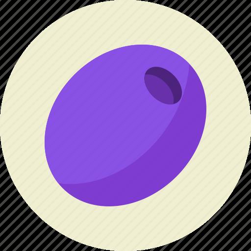 food, olive, vegetable icon