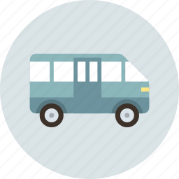 bus, transport, van icon