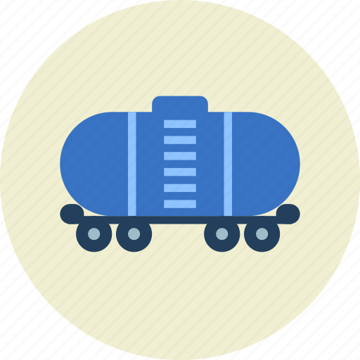 cistern, railroad, tank, tanker, vehicle icon