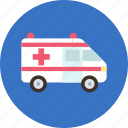 aid, ambulance, car, doctor, transport icon