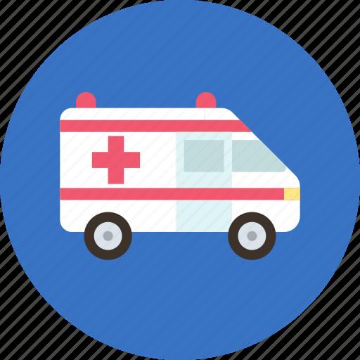 aid, ambulance, car, doctor, transport icon