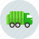 car, garbage, truck icon