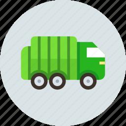 car, garbage, transport, truck icon
