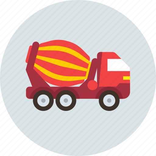 Concrete, mixer, transport icon - Download on Iconfinder