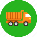 tipper, lorry, transport