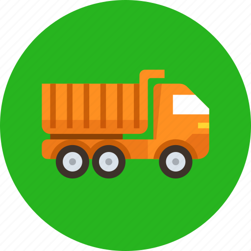 car, lorry, tipper, transport, truck icon