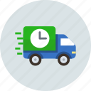 delivery, logistic, rush icon