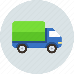car, cargo, delivery, logistic, rush, transport icon