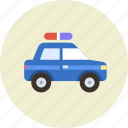 police, vehicle, transport