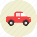 automobile, car, farmer, jeep, pickup, transport, vehicle icon
