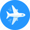 aircraft, airplane, flying, plane icon