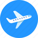 plane, takeoff, travel icon