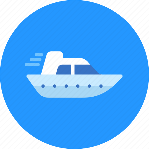 Boat, sea, yacht icon - Download on Iconfinder on Iconfinder