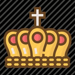 accessory, crown, diamond, gem, gemstone, jewel, jewelry icon