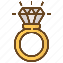 accessory, diamond, gem, gemstone, jewel, jewelry, ring icon