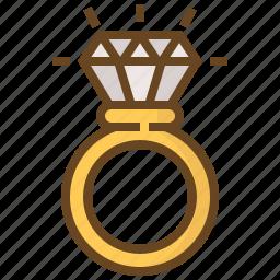 accessory, diamond, gem, gemstone, jewel, jewelry, ring icon