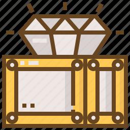 accessory, diamond, gem, gemstone, jewel, jewelry icon