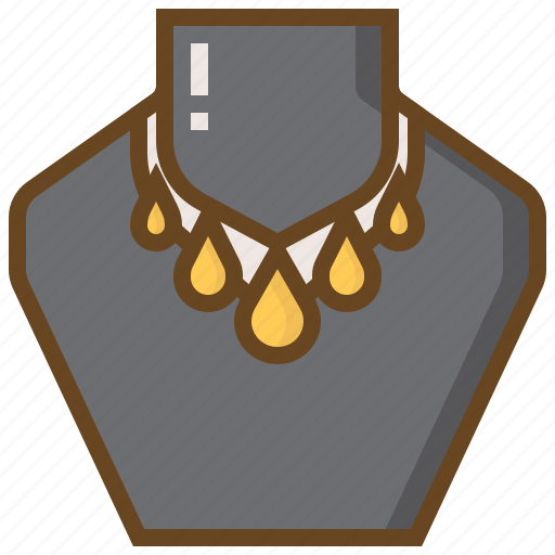 Accessory, diamond, gem, gemstone, jewel, jewelry, necklace icon - Download on Iconfinder