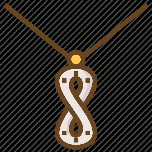 accessory, diamond, gem, gemstone, jewel, jewelry, necklace icon