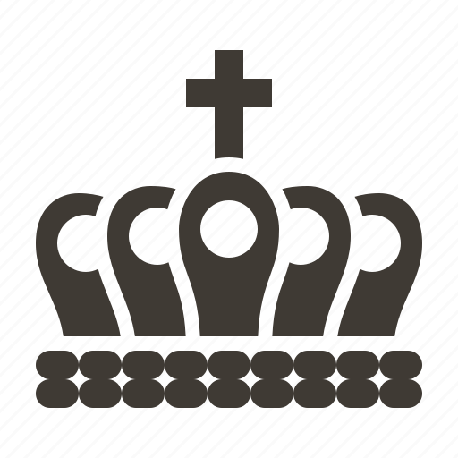 accessory, crown, gem, jewel, jewelry icon