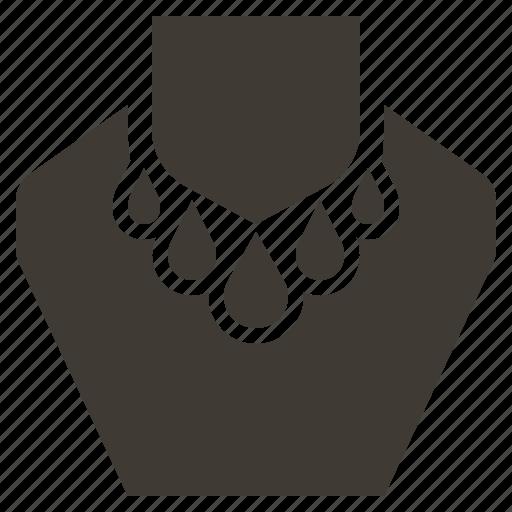 accessory, gem, jewel, jewelry, necklace icon