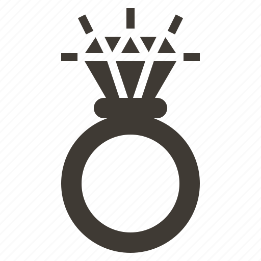 accessory, diamond, gem, jewel, jewelry, ring icon