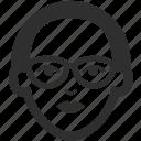 avatar, face, female, girl, glasses, woman