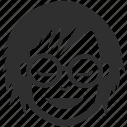 avatar, face, female, girl, woman icon