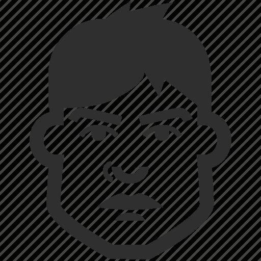 avatar, boy, face, male, man icon