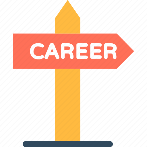 career direction, career path, career pathway, career service, career sign icon