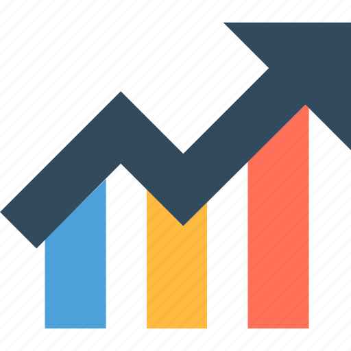 Business Growth Chart Graph Increasing Icon