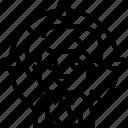 customer, hunting, aim, focus, target icon