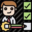 qualify, checklist, candidate, management, inspector