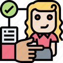 agency, selection, job, service, headhunter icon