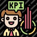 chart, market, revenue, kpi, businessman