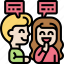 conversation, social, chat, onboarding, discussion