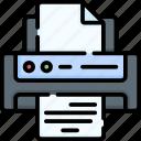 printer, printing, print, fax