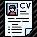 cv, job profile, resume, profile