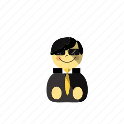 bodyguard, government, job, police, policy, protection, safety icon