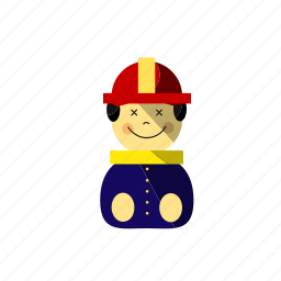 fire, fireman, help, job, office icon