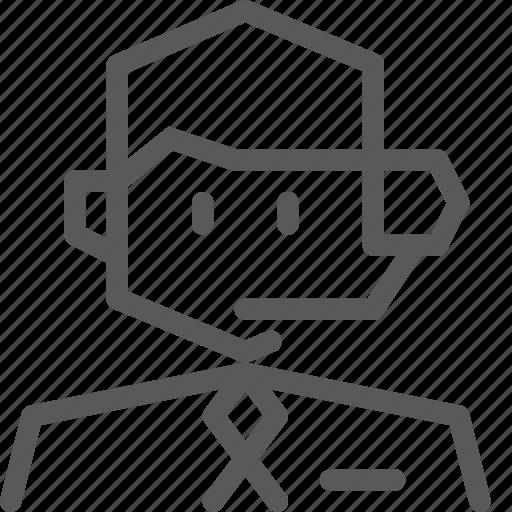 avatar, job, occupation, telecommunicator, telemarketer, telephone, work icon