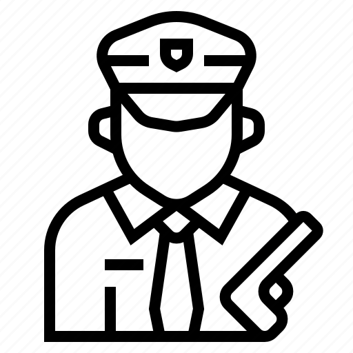 crime, justice, occupation, officer, policeman, profession, sheriff icon