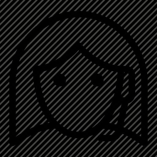 customer, representative, service, support, talk icon