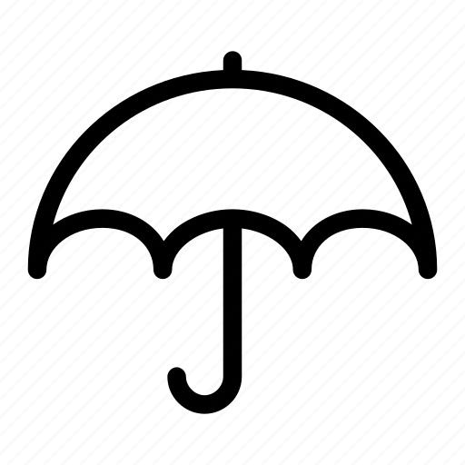 antivirus, prevention, protection, rain, umbrella icon