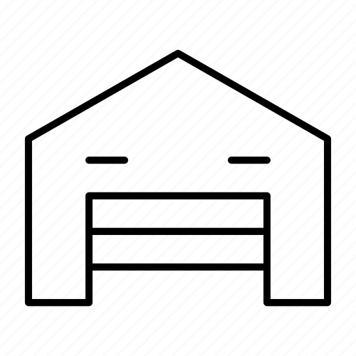 assembly, factory, product, storage, warehouse icon