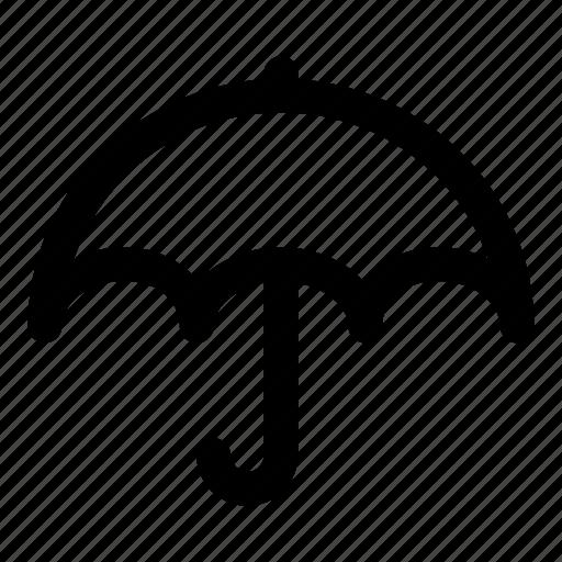 prevent, protection, rain, umbrella, water icon