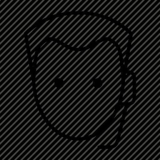 customer, male, representative, sales, service icon